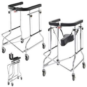 歩行器アルコー1型 100001(オリタタミシキ) ホコウキアルコー1ガタ(01-4130-00)【1台単位】|drmart