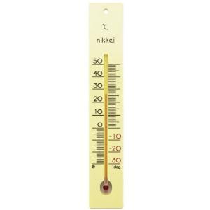 寒暖計(一般用) ナミイタ(250MM)-30-50゜C カンダンケイ(イッパンヨウ)(06-3095-00)【1個単位】|drmart