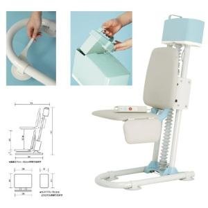入浴補助リフトラクヨクーン BLS1000 ニュウヨクカイジョリフトラクヨクーン(23-6261-00)【1台単位】|drmart