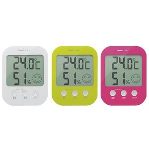デジタル温湿度計 オプシス デジタルオンシツドケイオプシス O-230PK(ピンク)(23-7591-02)【1個単位】|drmart