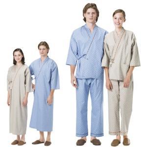 患者衣じんべい型 RG-1451(EL) カンジャイジンベイガタ ブルー(24-2913-04-01)【1枚単位】 drmart