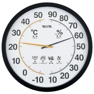温湿度計 オンシツドケイ TT-554-BK(ブラック)(24-2964-00)【1個単位】|drmart