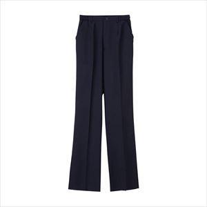 女子パンツ ML-1123(L) ジョシパンツ ネイビー(24-6502-02-01)【1枚単位】|drmart