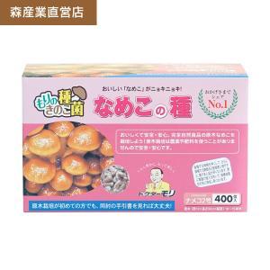 ナメコ種駒 【なめこ種駒400個】 [ナメコ菌/なめこ菌/原木ナメコ栽培/種駒] 日本で一番売れてます! drmori1