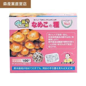 ナメコ種駒 【なめこ種駒100個】 [ナメコ菌/なめこ菌/原木ナメコ栽培/種駒] 日本で一番売れてます! drmori1