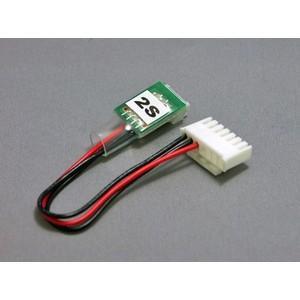 変換コネクターEH-2Sタイプ(Kokam→LBA10)  【メール便可】|droneparts