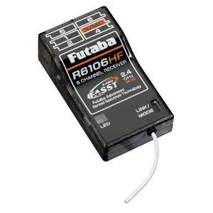 FUTABA R6106HF-2.4G 受信機 droneparts