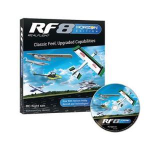 FUTABA リアルフライト8 Horizon Hobby エディション ソフトウェアのみ|droneparts