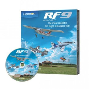 リアルフライト9.5  フライトシミュレーター ソフトウェア単品 / 日本語取扱説明書完全版付き(DVD)|droneparts