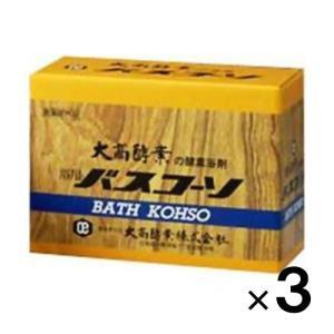 (送料無料!)バスコーソ 100g×6袋入(入浴剤)×3個(大高酵素)(医薬部外品)(4971578001095)|drug-pony