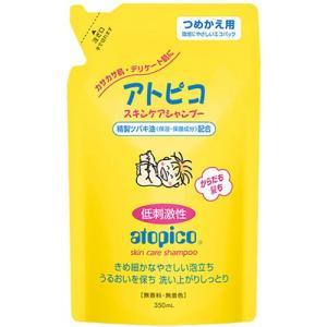 アトピコ スキンケアシャンプー 詰め替え用350ml(大島椿本舗)|drug-pony