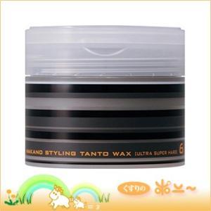 ナカノ スタイリングワックス タントN ワックス 6 ウルトラスーパーハード 90g(中野製薬)(4...