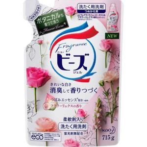 フレグランスニュービーズジェル フラワーリュクスの香り つめかえ用 715g(花王)(4901301...