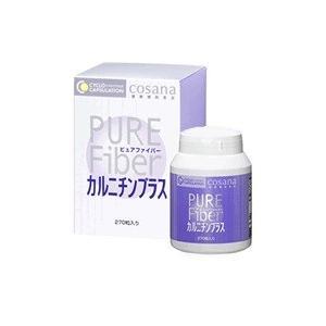 ピュアファイバーカルニチンプラス 270粒|drug-yanagawa