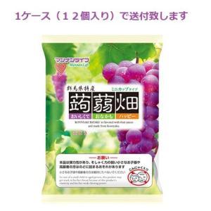マンナンライフ 蒟蒻畑 ぶどう 25g×12個入り 1ケース(12袋入り) drug-yanagawa