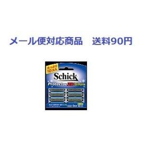 シック プロテクター3D シンプル 替刃 10個入り メール便対応商品 送料90円 代引き不可|drug-yanagawa