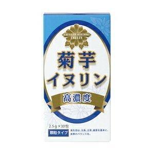 菊芋イヌリン 高濃度 2.5g X 30包 顆粒タイプ サンヘルス キクイモ|drug-yanagawa