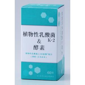 植物性乳酸菌 K-2&酵素 60粒 芳香園製薬|drug-yanagawa