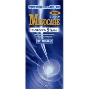 ミノキシジル5% ミノケア 60ml 日新薬品工業 第1類医薬品 ジェネリック リアップx5も発売中  この商品は返信メールを頂いてから発送となります drug-yanagawa