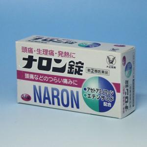 解熱鎮痛薬  大正製薬  ナロン錠 24錠      @メー...
