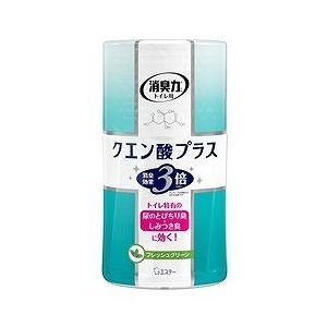 トイレの消臭力 クエン酸プラス フレッシュグリーン 400mL エステー|drug