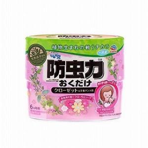 ピレパラアース 防虫力おくだけ 消臭プラス 柔軟剤の香りフローラルソープ|drug