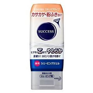 花王サクセス 薬用シェービングジェル スキンケアタイプ 180g 【医薬部外品】|drug