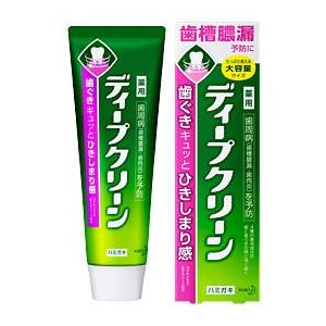 ディープクリーン 薬用ハミガキ 160g 【医薬部外品】 drug