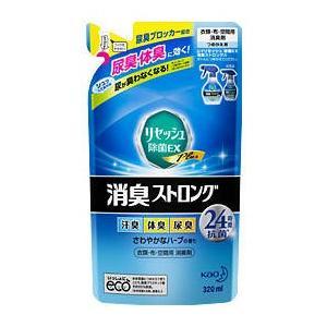 リセッシュ 除菌EX 消臭ストロング320ml つめかえ用|drug