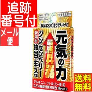 【メール便送料無料】元気の力 3粒×2包 メイクトモロー|drug
