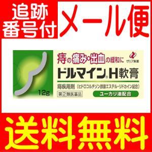 【メール便送料無料】【第(2)類医薬品】ドルマインH軟膏 12g ゼリア新薬|drug