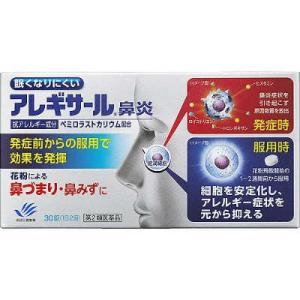 【第2類医薬品】アレギサール鼻炎 30錠  田辺三菱製薬 drug