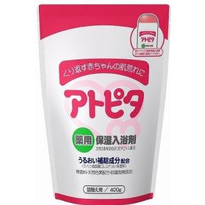 【医薬部外品】アトピタ 薬用保湿入浴剤 400g 詰替え用 丹平製薬|drug