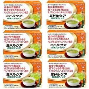 【6個セット】ミドルケア粉末スティック 4g×30包×6 【特定保健用食品】 大正製薬|drug