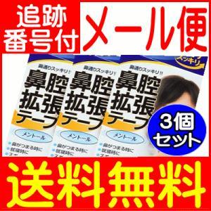【3個セット】鼻腔拡張 テープメントール  10枚 川本産業【メール便送料無料/3個セット】|drug