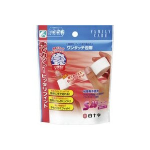 FCワンタッチ包帯S 25mm×3m 白十字 drug