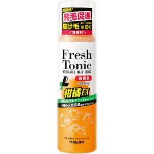 薬用育毛フレッシュトニック 柑橘EX(190g)無香料 柳屋本店 頭皮用育毛剤 drug