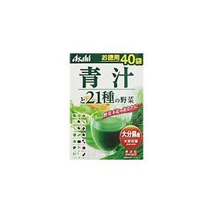 アサヒ 青汁と21種の野菜  40袋|drug