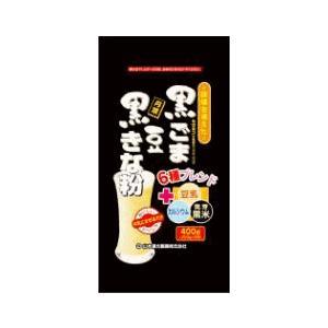 黒ごま黒豆きな粉 400g 山本漢方|drug