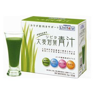 リビタ大麦若葉青汁 3g×30袋入|drug