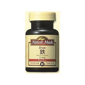 ネイチャーメイド 鉄 80粒|drug