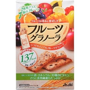 バランスアップ フルーツグラノーラ 3枚×5袋の商品画像