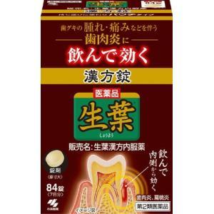 【第2類医薬品】 生葉漢方錠 84錠 drughero