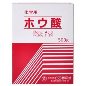 ホウ酸(化学用) 500g drughero