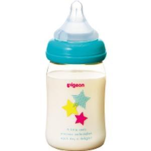 母乳実感ほ乳びん プラ スター柄 160ml|drughero