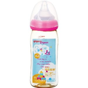 母乳実感ほ乳びん プラ トイボックス柄 240ml|drughero