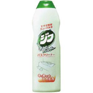 浴室内の黒ズミ・湯あかに。ジフの研磨剤は天然成分カルサイト100%。素材にキズをつけずに、汚れだけを...