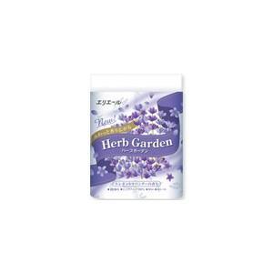 大王製紙 エリエール Herb Garden ハーブガーデン ラベンダー 4ロール3枚重ね 30m×...