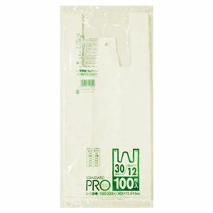 日本サニパック株式会社 Y-2H レジ袋乳白 12/30号(100枚入)  【北海道・沖縄は別途送料必要】|drugpure