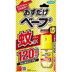 フマキラー株式会社 おすだけベープ ワンプッシュ式 スプレー 120回分 無香料(28ml)【おすだ...